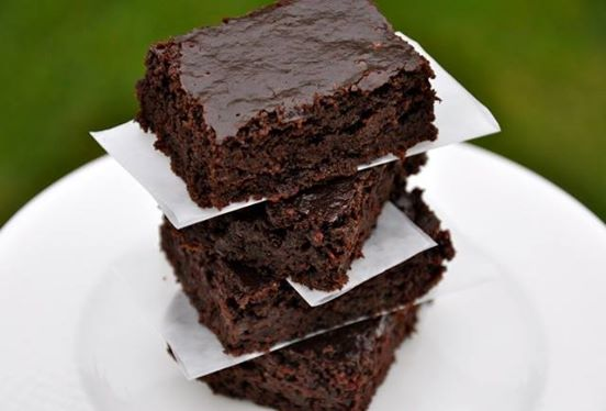 Chocolate Brownies - healthy one's with zucchini