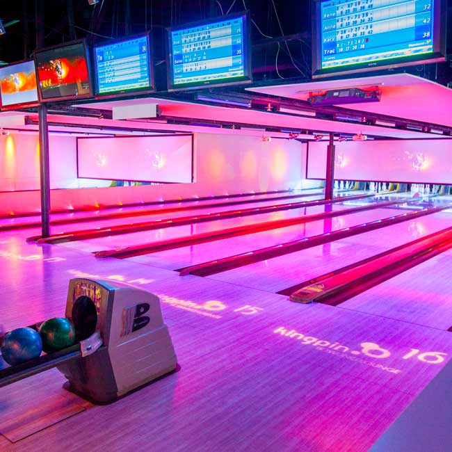 Kingpin Bowling at Darling Harbour